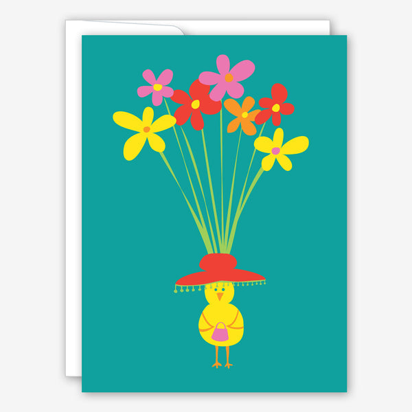Great Arrow Easter Card: Easter Bonnet Chick