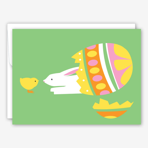 Great Arrow Easter Card: Easter Egg Surprise