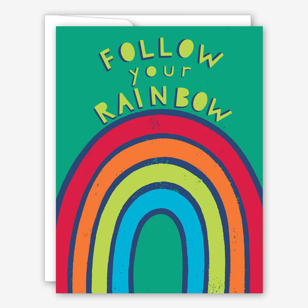 Great Arrow Encouragement Card: Follow Your Rainbow