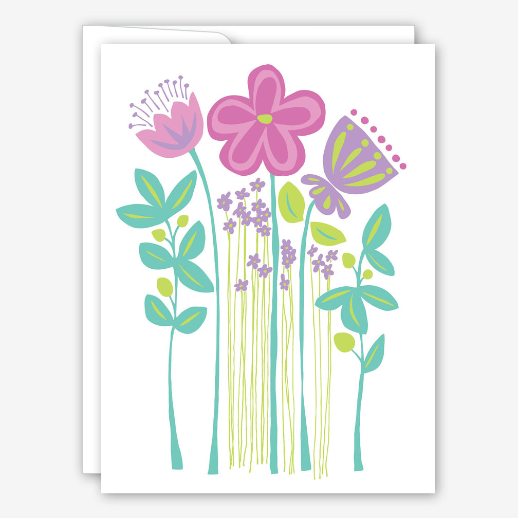 Great Arrow Encouragement Card: Wildflowers