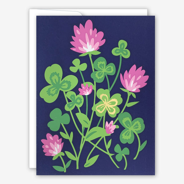 Great Arrow Encouragement Card: Clover Luck