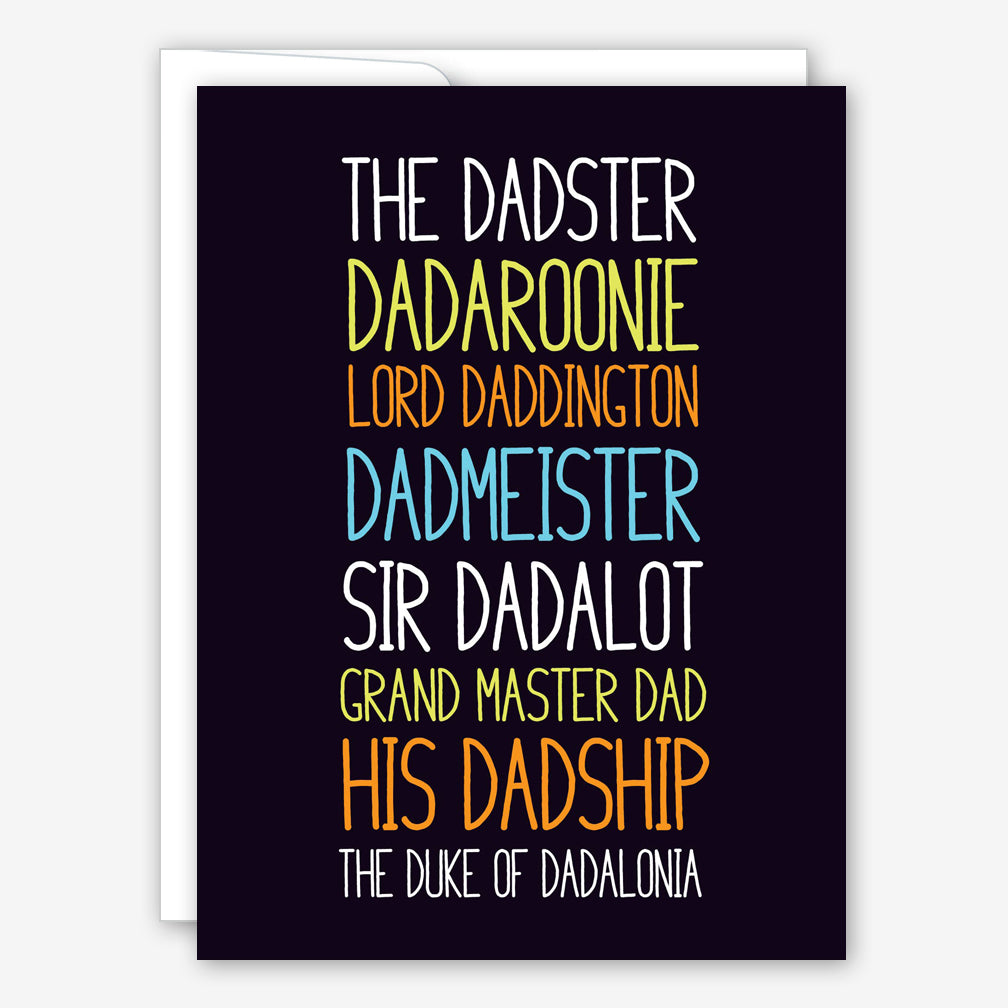Great Arrow Father's Day Card: Dadster Dadaroonie