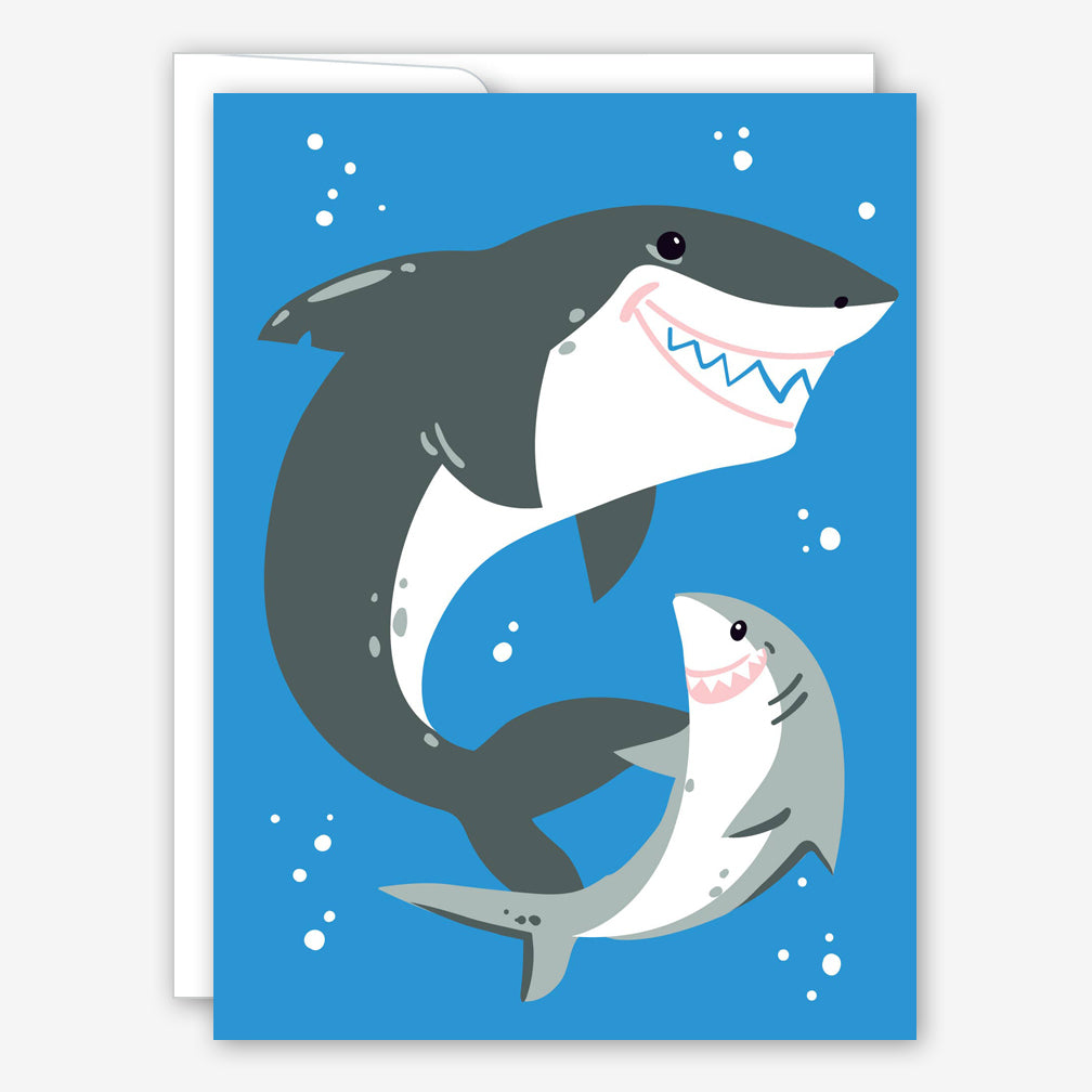 Great Arrow Father's Day Card: Daddy Shark