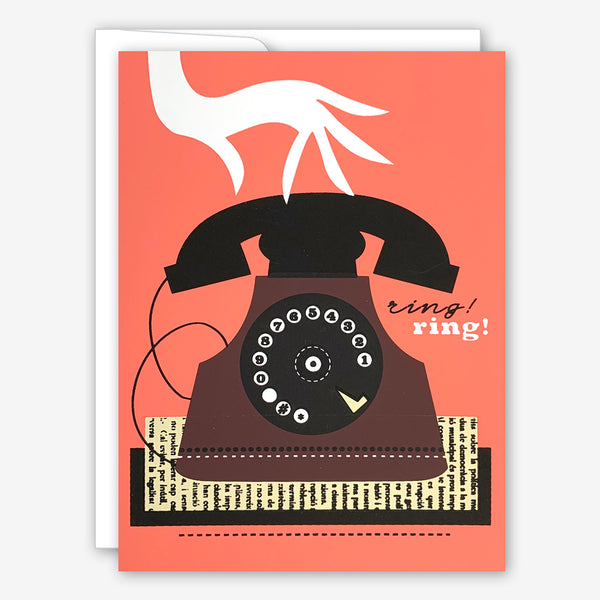 Great Arrow Friendship Card: Rotary Phone
