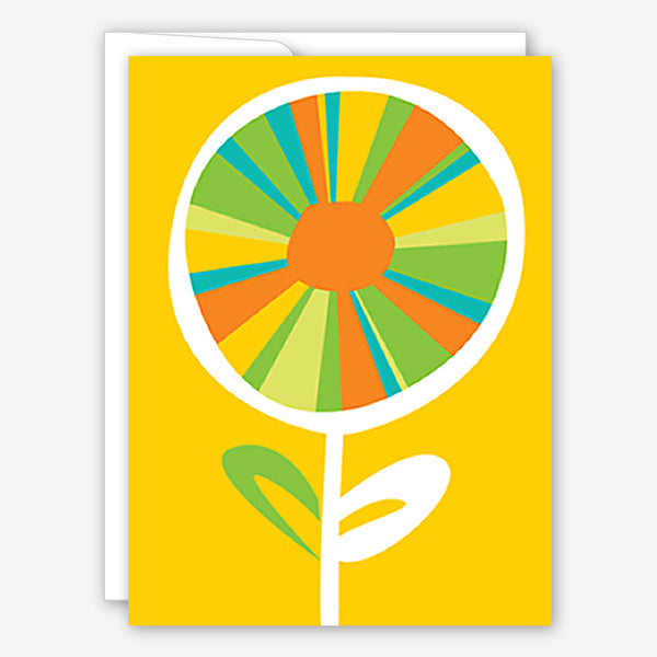 Great Arrow Friendship Card: Biiiiig Flower