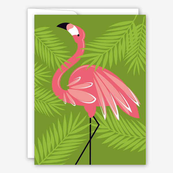 Great Arrow Get Well Card: Pink Flamingo