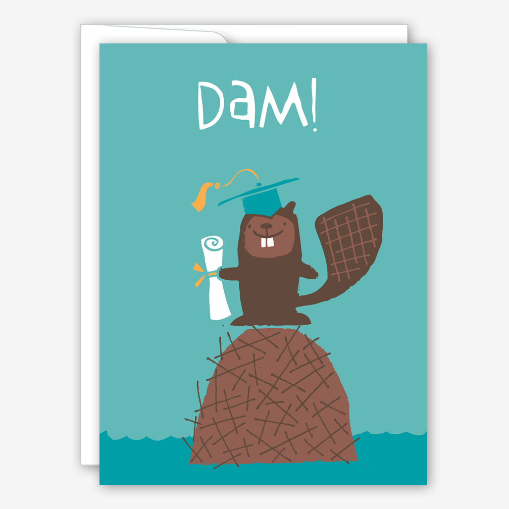 Great Arrow Graduation Card: Beaver
