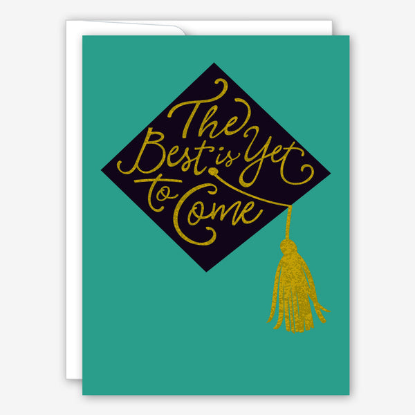 Great Arrow Graduation Card: Cap with Metallic Detail