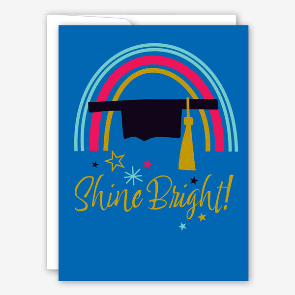 Great Arrow Graduation Card: Shine Bright Rainbow