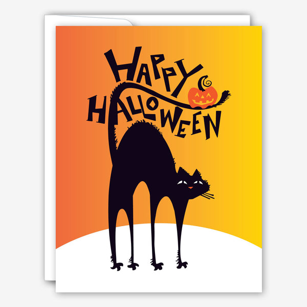 Great Arrow Halloween Card: Black Cat