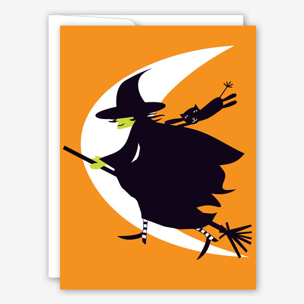 Great Arrow Halloween Card: Witch