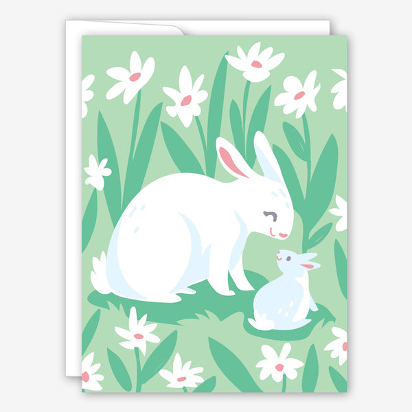 Great Arrow Mother's Day Card: Spring Bunnies