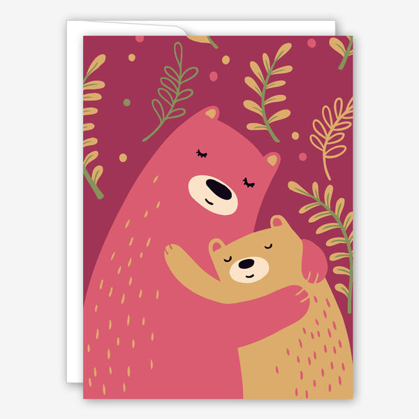 Great Arrow Mother's Day Card: Mama Bear and Cub