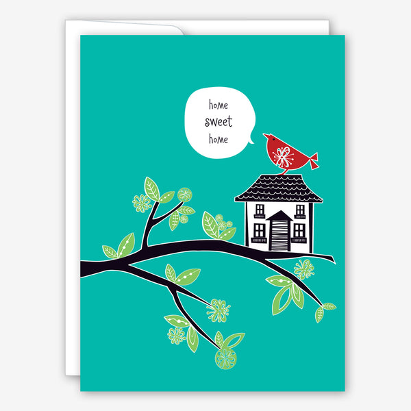Great Arrow New Home Card: Sweet Home Birdhouse