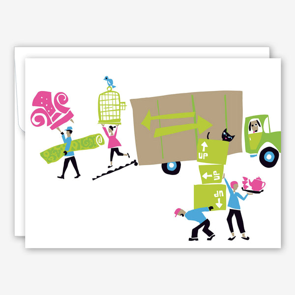 Great Arrow New Home Card: Moving Van