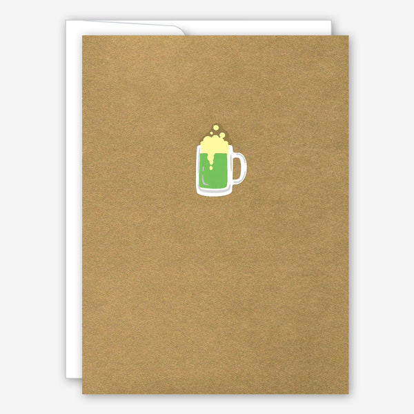 Great Arrow St. Patrick's Day Card: Tiny Mug O'Beer