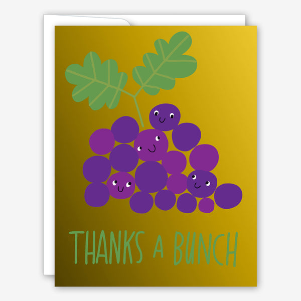Great Arrow Thank You Card: Grapes Thanks a Bunch