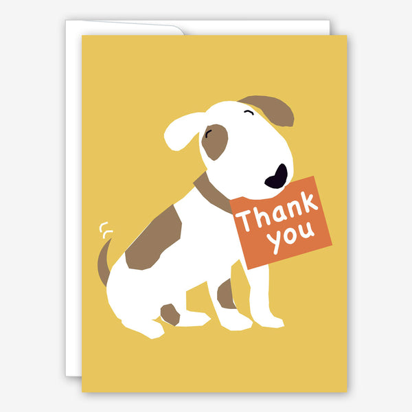 Great Arrow Thank You Card: Puppy