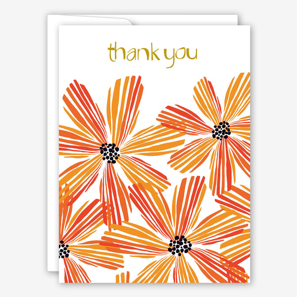 Great Arrow Thank You Card: Layered Daisies