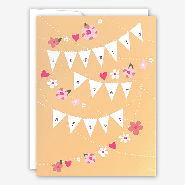 Great Arrow Wedding Card: Happily Ever After Banner