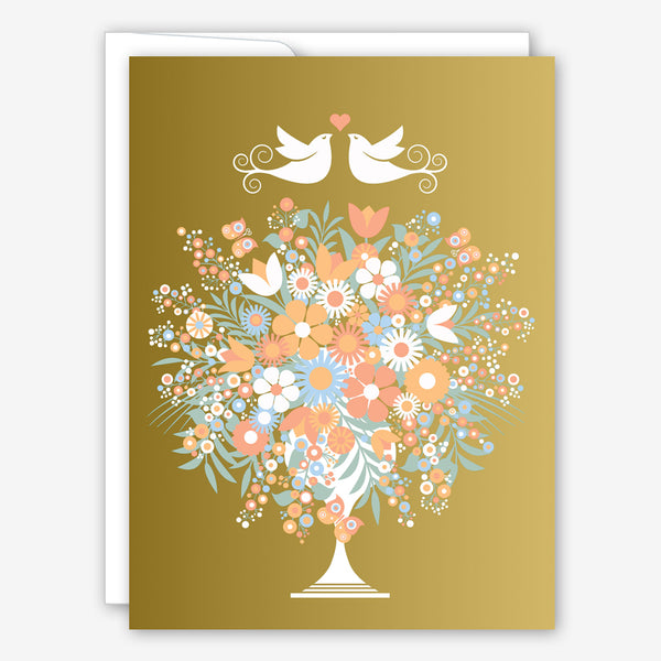 Great Arrow Wedding Card: Splendid Bouquet