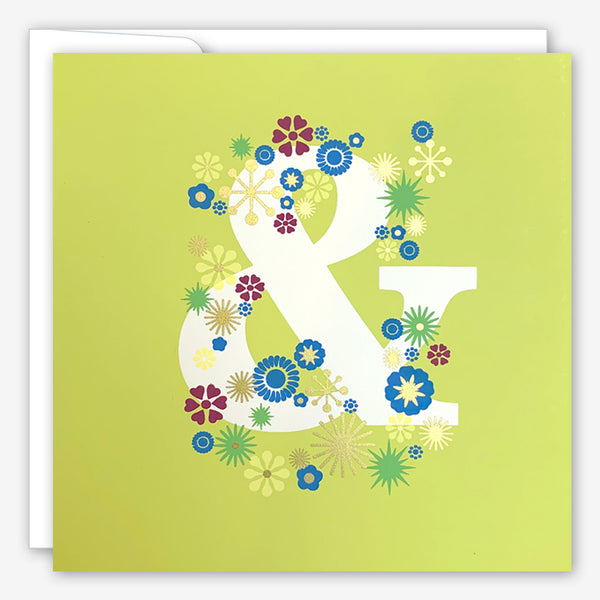 Great Arrow Wedding Card: Ampersand