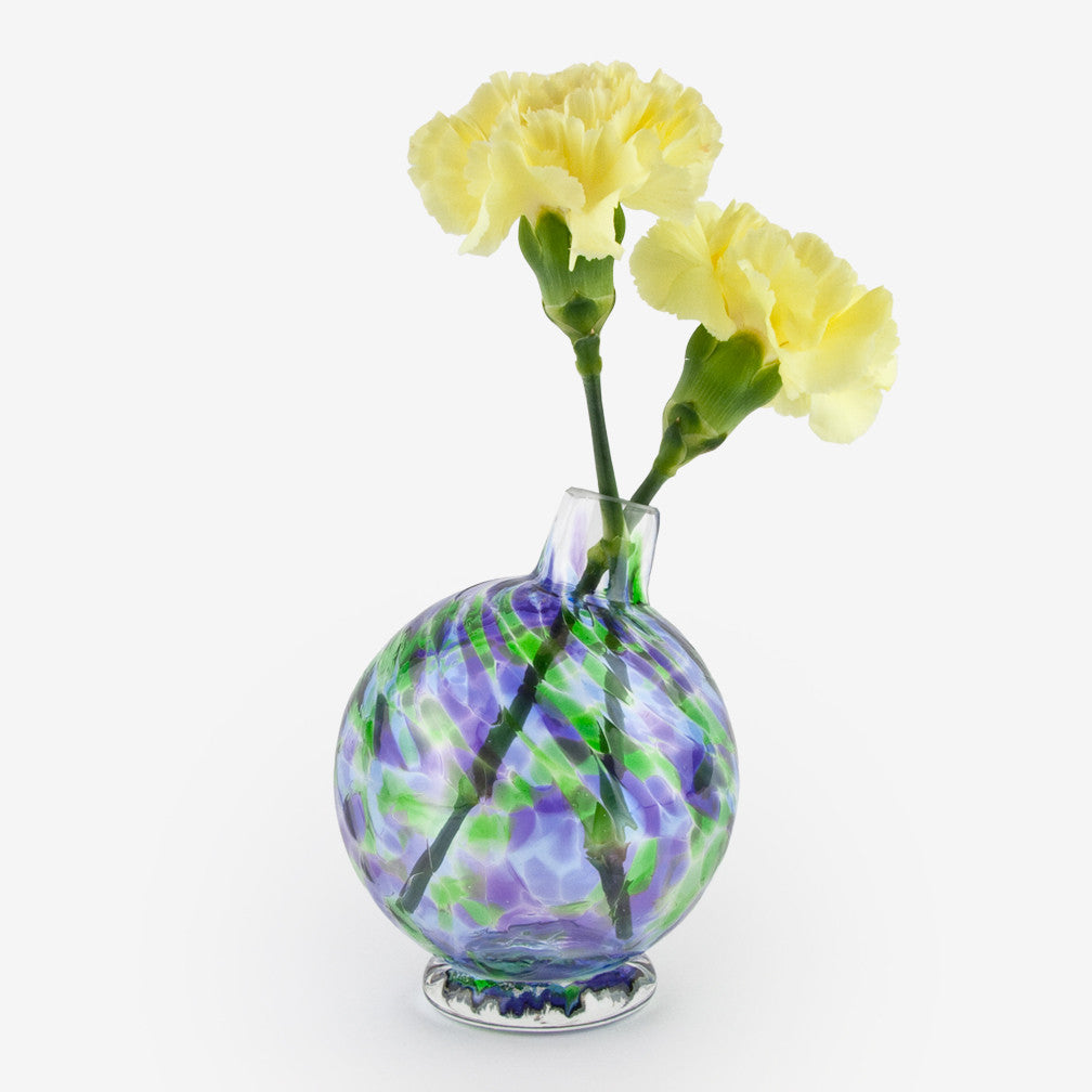 Henrietta Glass: Bud Vase: Water Lily