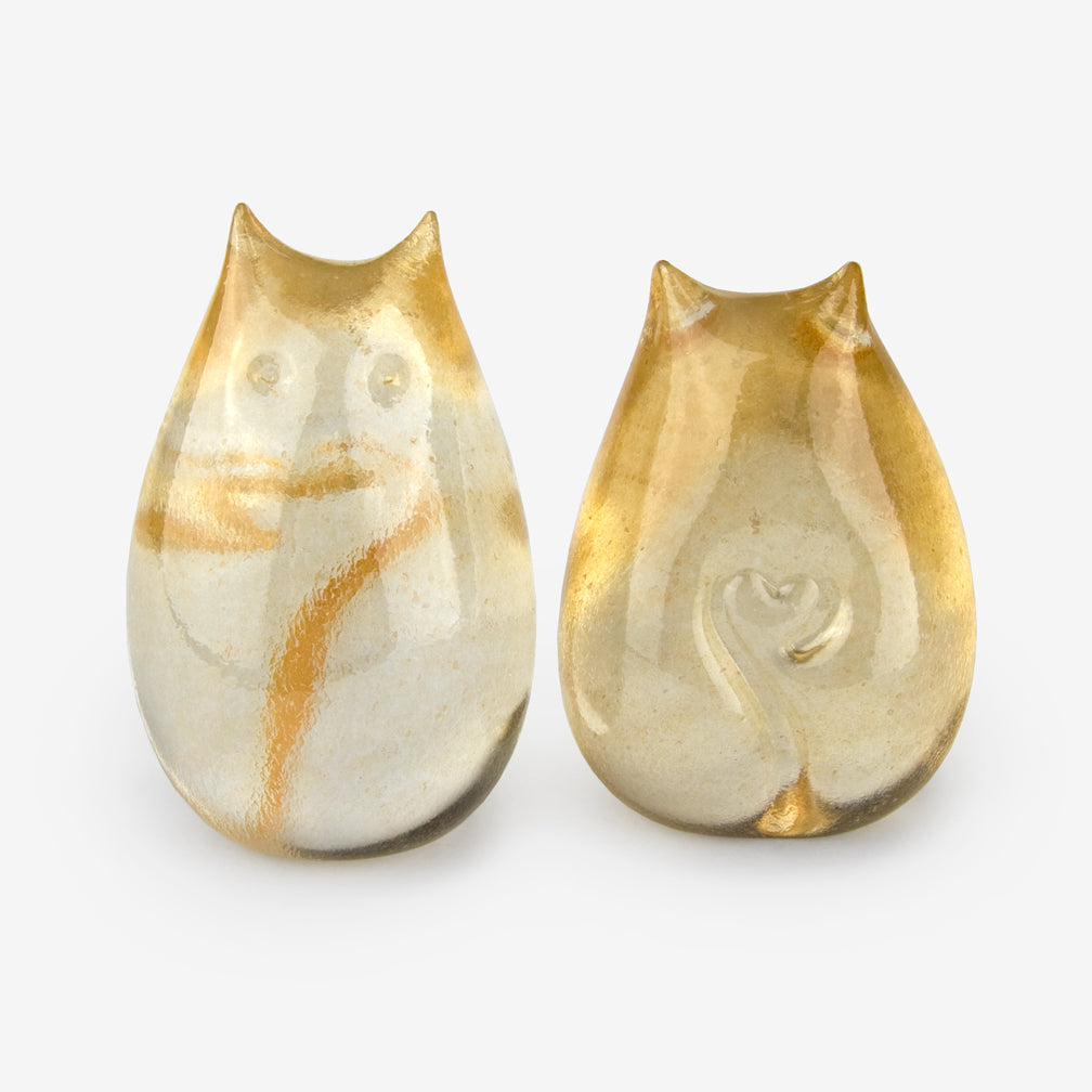 Henrietta Glass: Love Cats: Champagne