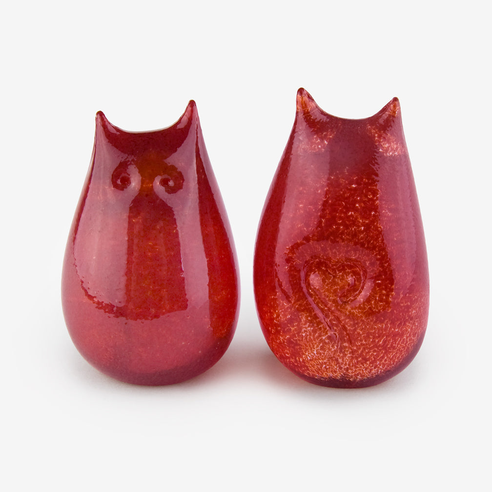 Henrietta Glass: Love Cats: Scarlet