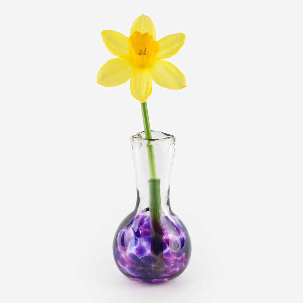 Henrietta Glass: Love You Vases: Double Violet