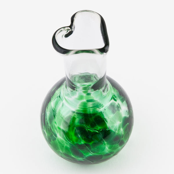 Henrietta Glass: Love You Vases: Kate's Green