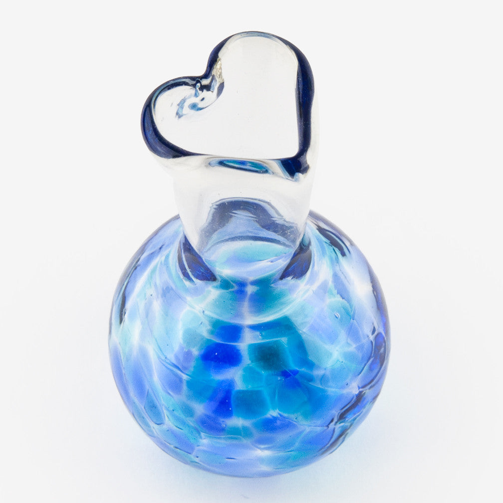 Henrietta Glass: Love You Vases: Mumbai Blue