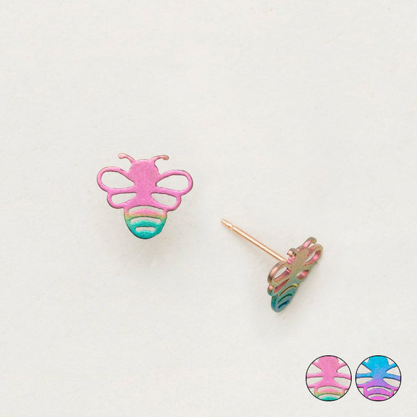 Holly Yashi: Beekeeper Post Earrings