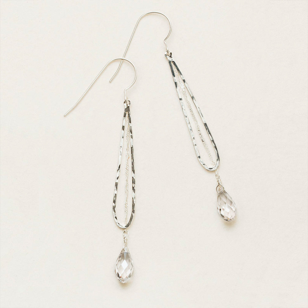 Holly Yashi: Celestine Drop Earrings