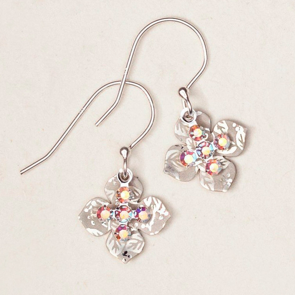 Holly Yashi: Crystal Cross Earrings