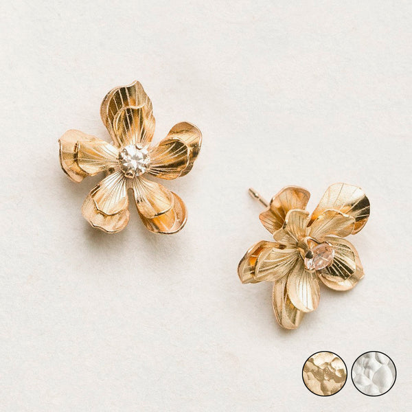 Holly Yashi: Double Plumeria Earrings