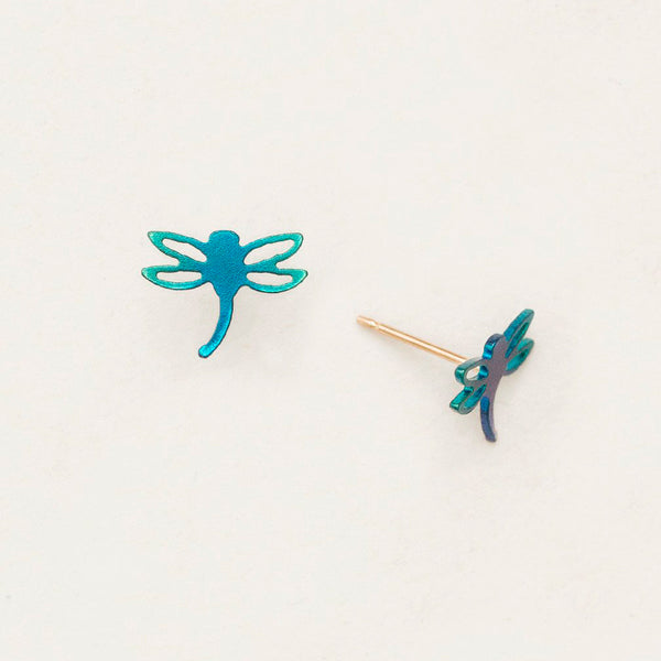 Holly Yashi: Dragonfly Post Earrings