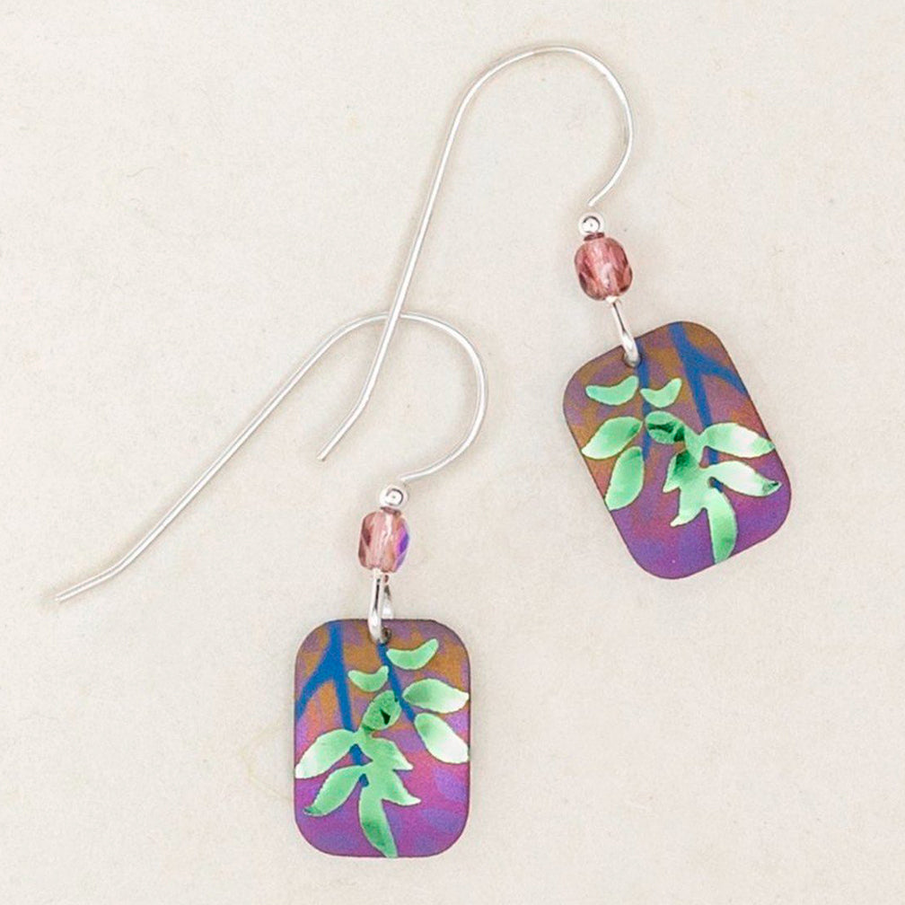 Holly Yashi: Evergreen Leaf Earrings