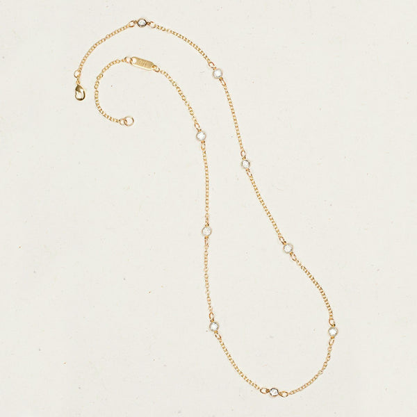 Holly Yashi: La Belle Necklace, Gold