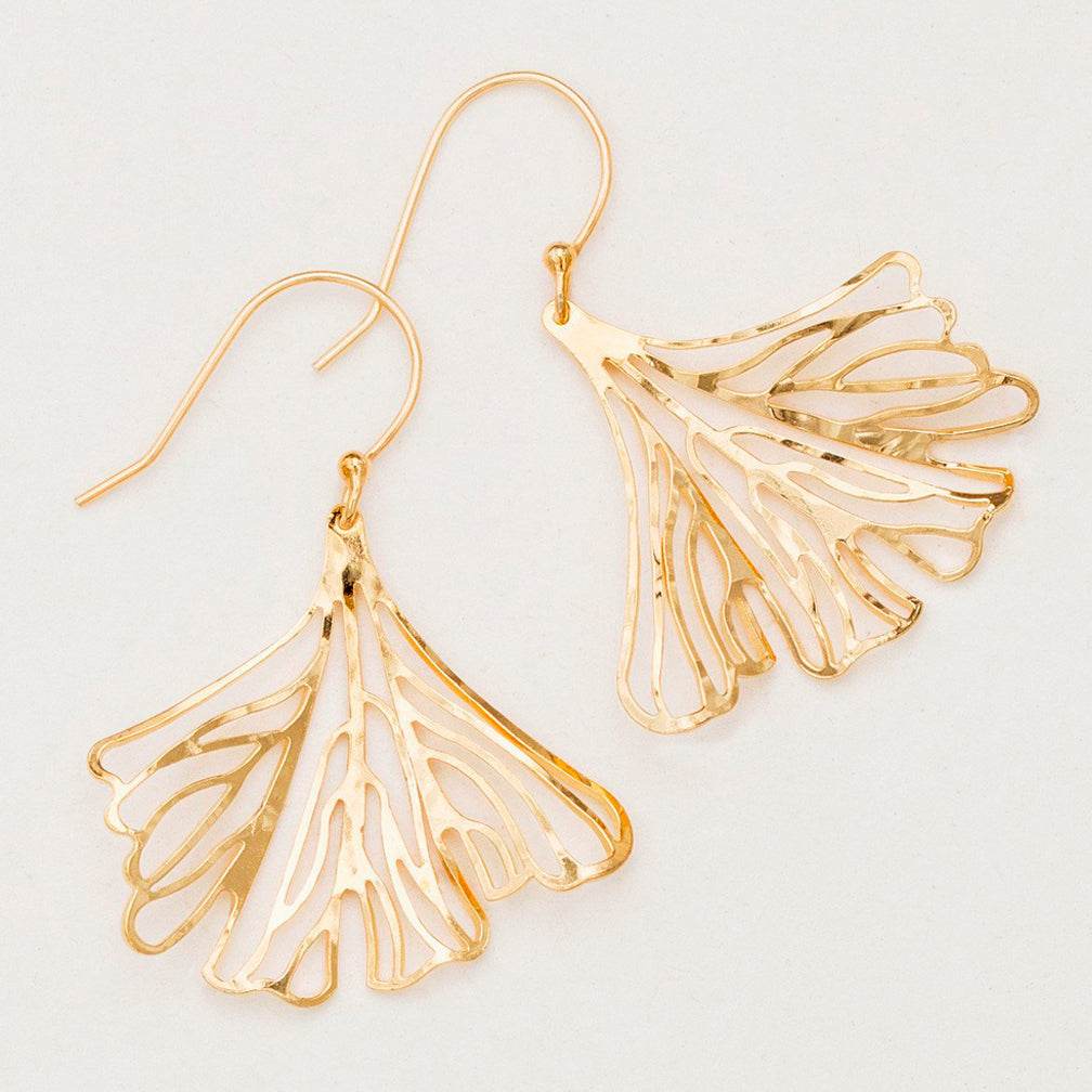 Holly Yashi: Maidenhair Earrings