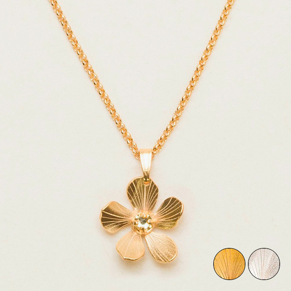 Holly Yashi: Plumeria Drop Necklace