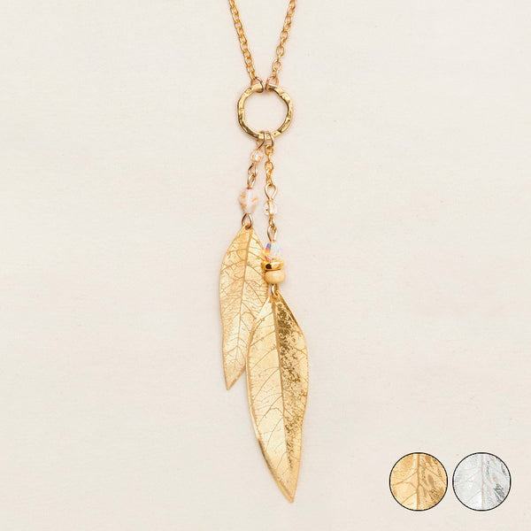 Holly Yashi: Shimmering Willow Necklace