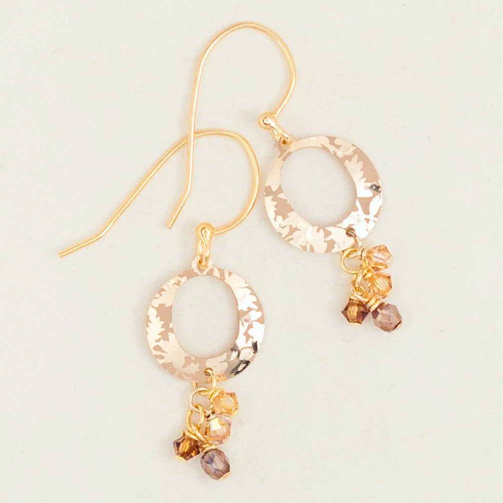 Holly Yashi: Sun Circle Earrings