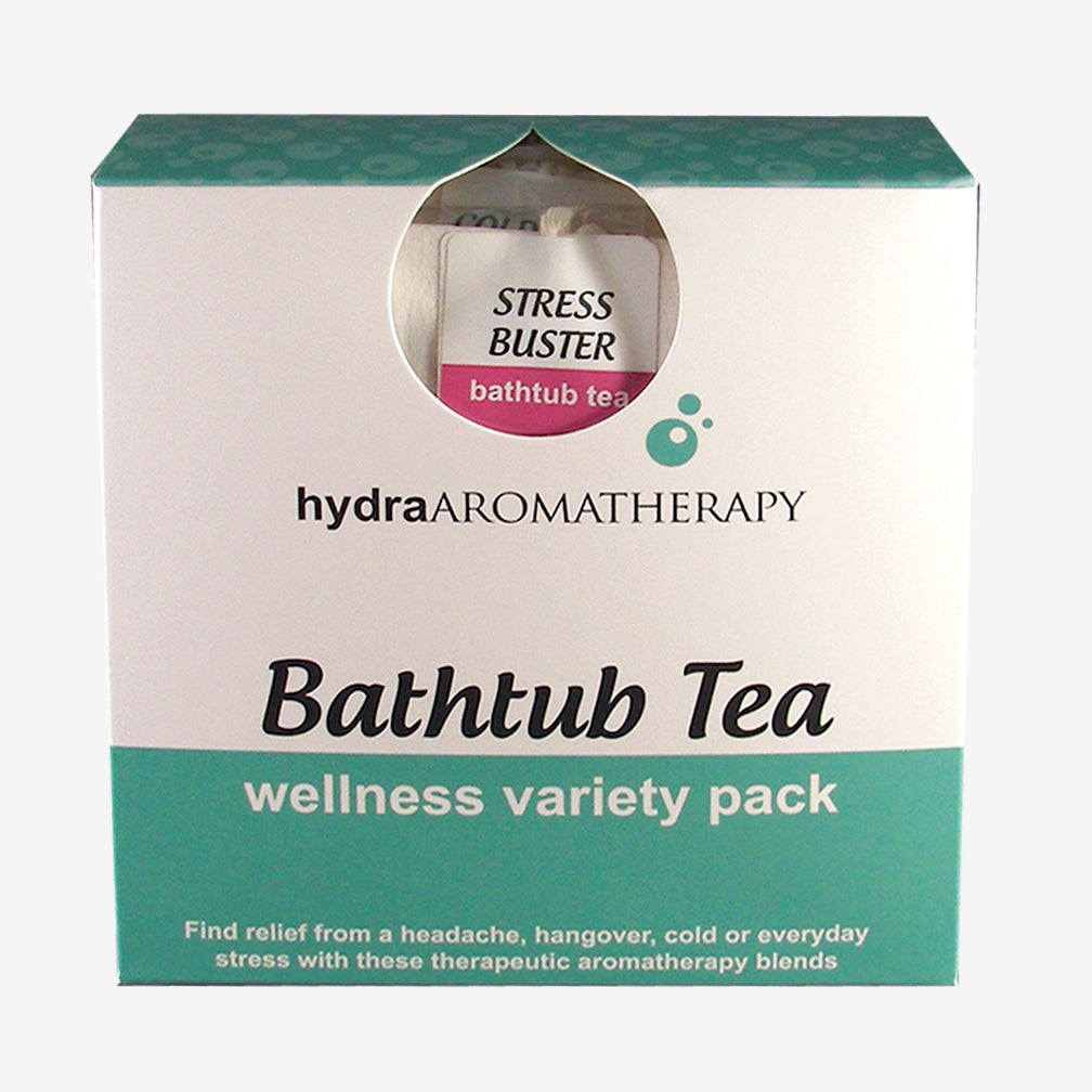 hydraAROMATHERAPY: Bathtub Tea: Wellness Variety Pack