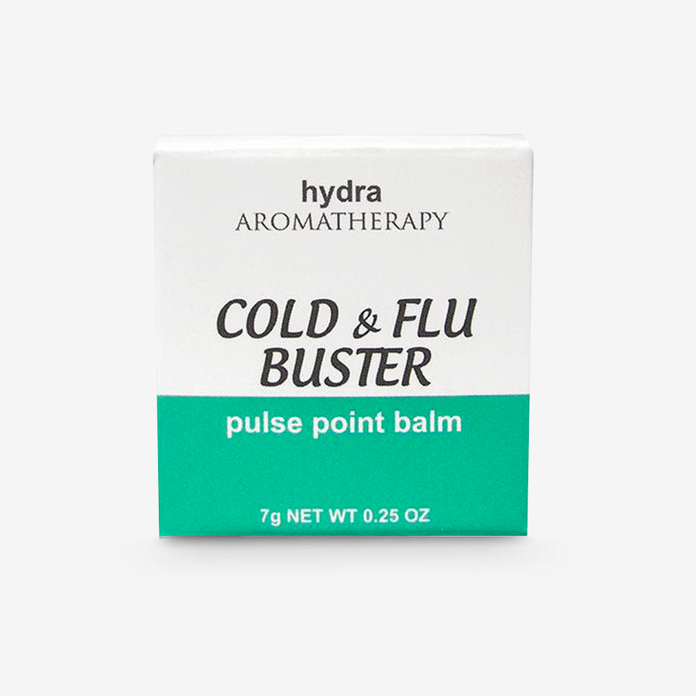 hydraAROMATHERAPY: Pulse Point Balm: Cold & Flu Buster