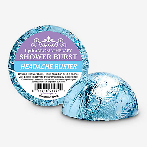 hydraAROMATHERAPY: Shower Burst: Headache Buster