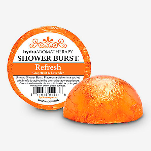 hydraAROMATHERAPY: Shower Burst: Refresh