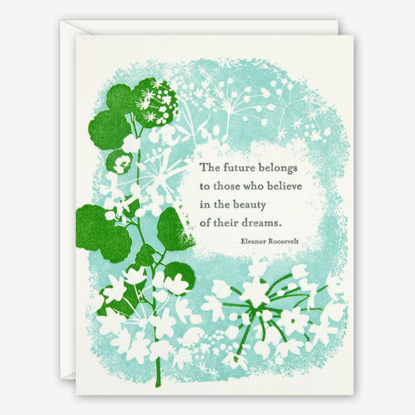 Ilee Papergoods: Graduation Card: Eleanor Quote