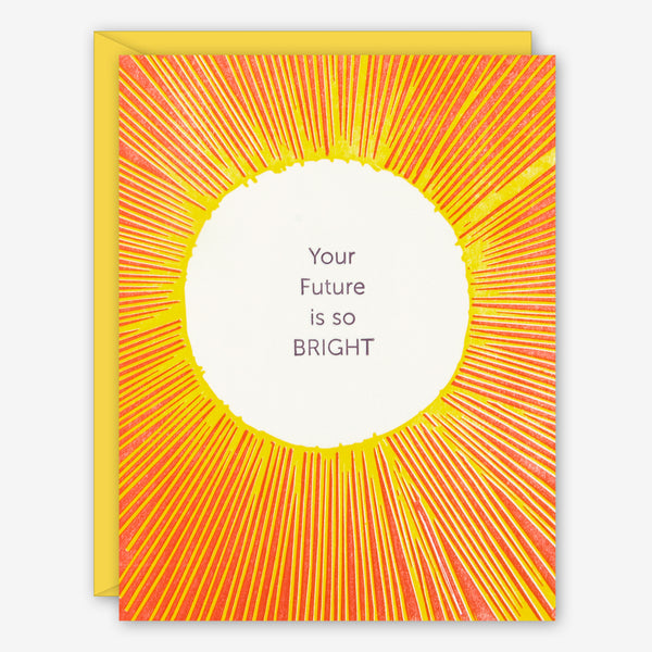 Ilee Papergoods: Graduation Card: Your Future Is So Bright