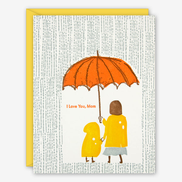 Ilee Papergoods: Mother's Day Card: Rain, I Love You, Mom